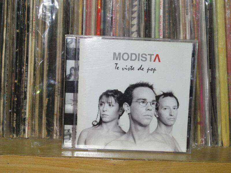 Modista ? Te Viste De Pop  CD ARG