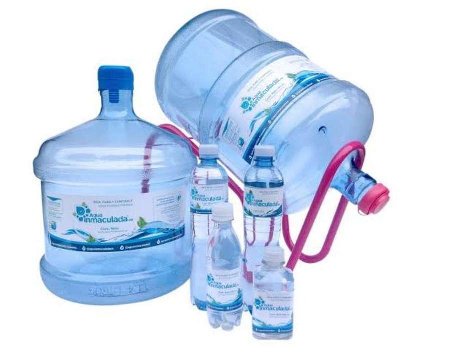 Agua en Bidones