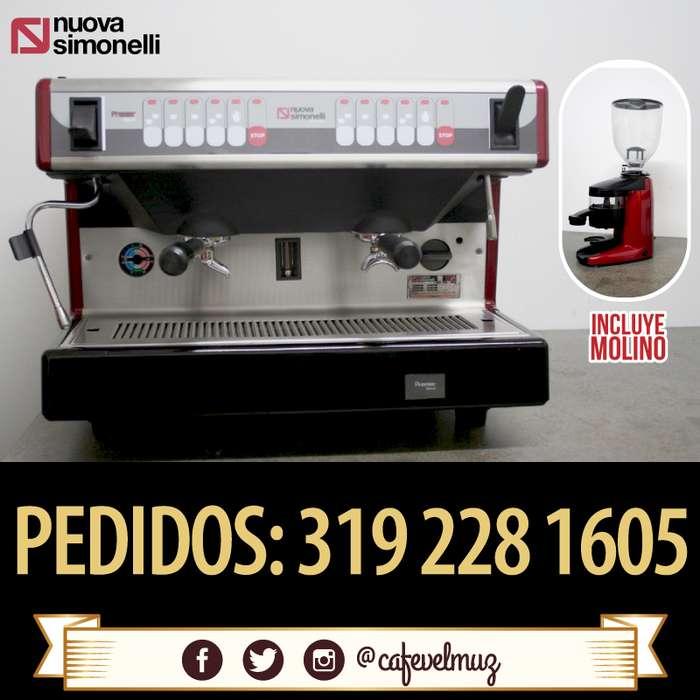 Máquina de café expréss Nuova Simonelli Molino Compak