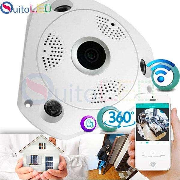 Camara Espia Wifi con Monitoreo desde el Celular Quitoled