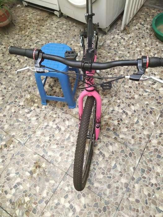 Bicicleta Todoterreno Rin 26 Doble Pared - Rosada