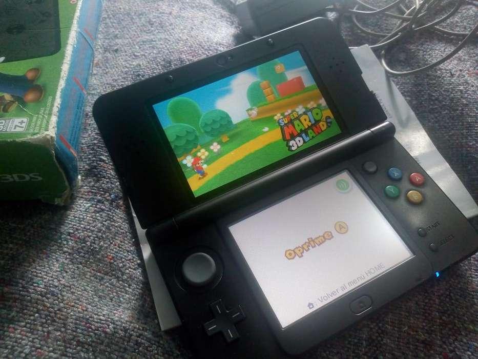 New Nintendo 3DS Edicion Limitada Negra 32GB Programada con 26 juegos en Excelente Estado
