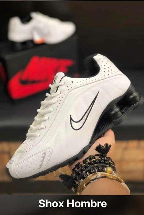 Nike Shox Resorte Usa Zapatos Calzado