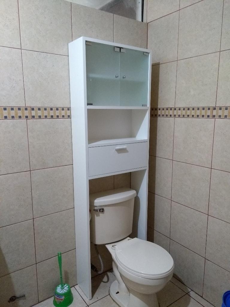 Mueble de Baño con Puertas Devidrio