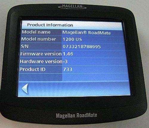 Gps Magellan Roadmate 1200 Mapa Usa