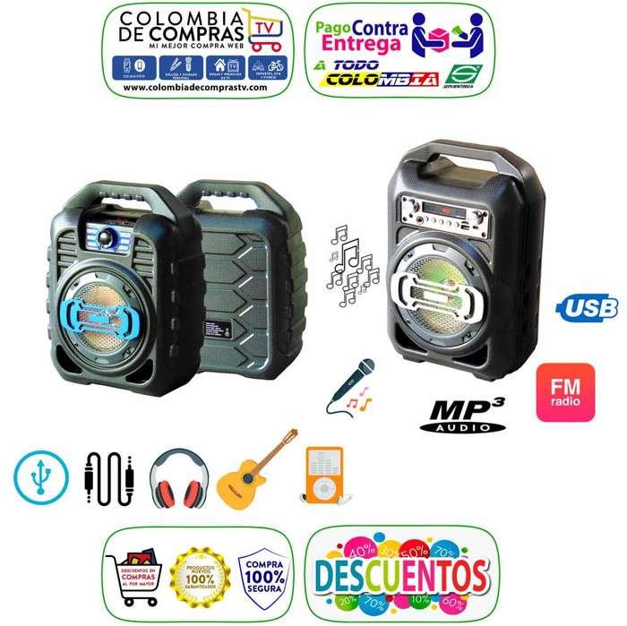 Espectacular Cabina Sonido Bluetooth Portátil Radio Fm Usb Sd, Nuevas, Originales, Garantizaados.