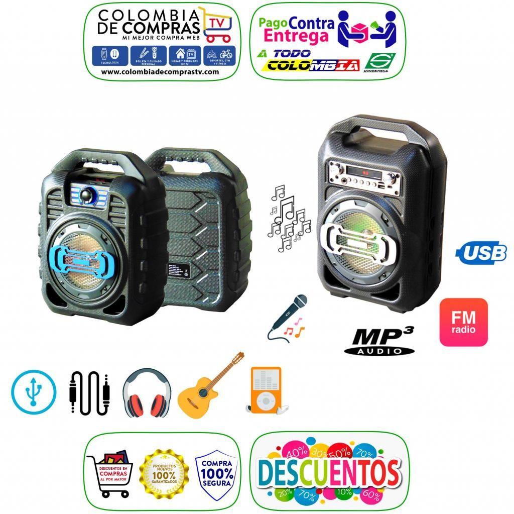 Cabina Sonido Bluetooth Portátil Radio Fm Usb Sd, Nuevas, Originales, Garantizaados.