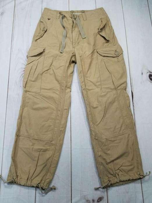 Pantalon cargo American eagle T32 no hollister,abercrombie