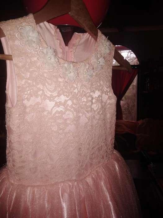 Vestido de Niña para Niña de 05 a 06 Año