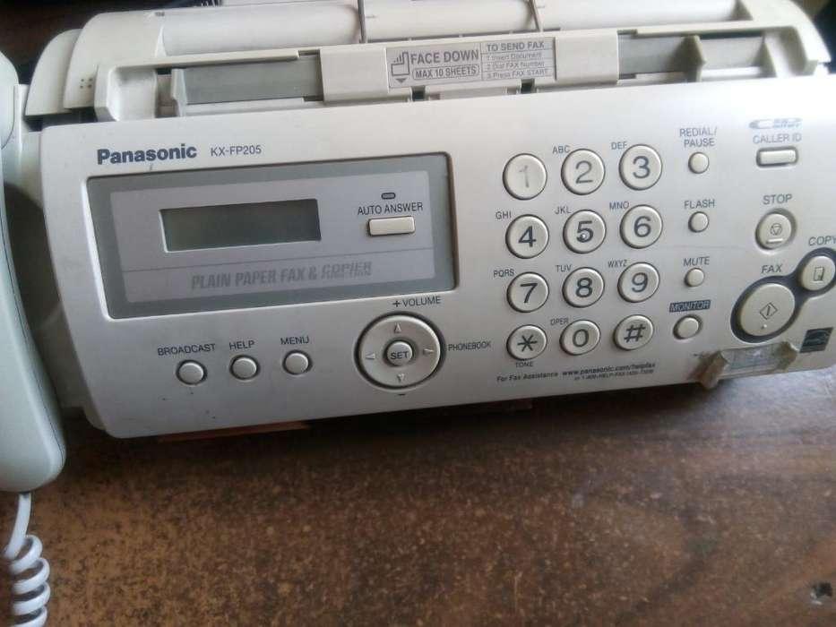 Vendo Telefono Panasonic con <strong>fax</strong>