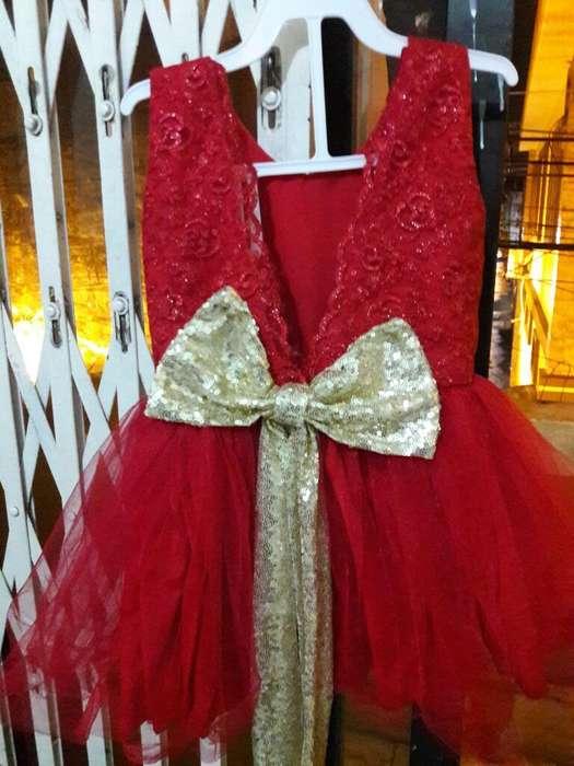 Vestido de Niña Fiesta Talla 2-3