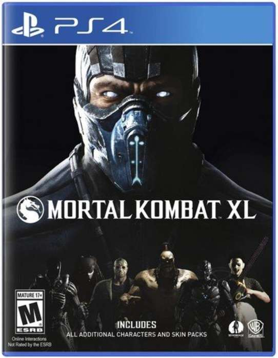 Vdo Mortal Kombat Xl para Ps4