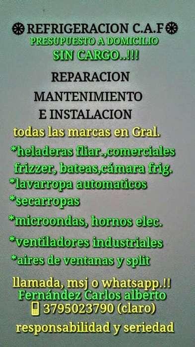 Refrigeracion C.a.f - Corrientes Capital