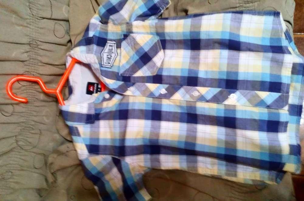 Camisa Ropa Niño Quiksilver Talla 8 10
