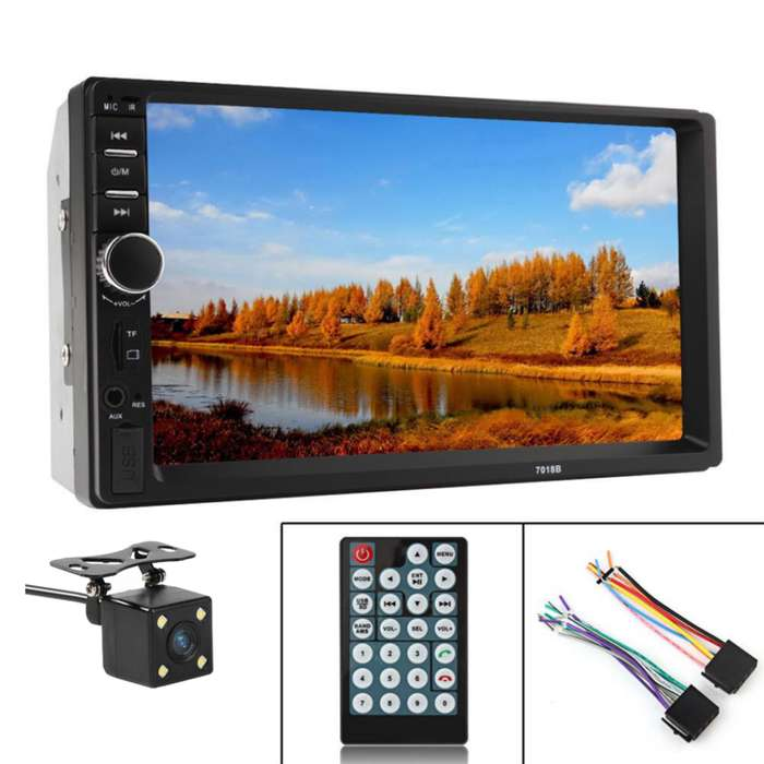 Radio Pantalla MP5 CAMARA REVERSA GRATIS INSTALACION INCLUIDA Mirrorlinl 2 Din HD Android