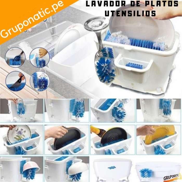 Lavador De Platos Vasos Cubiertos Wash Bright Gruponatic San Miguel Surquillo Independencia La Molina Whatsapp 941439370