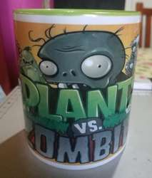 Taza Plantas Vs Zombies