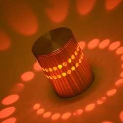 LAMPARA DECORATIVA DE PARED LED.