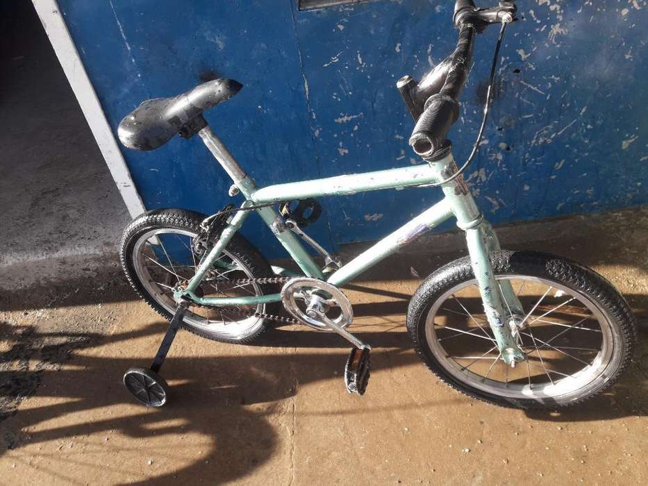 Vend Bici Rod 16 con Rueditas Andand Bie