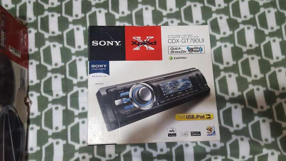 Estereo Sony Cdx-gt790 Linea Premium4rca