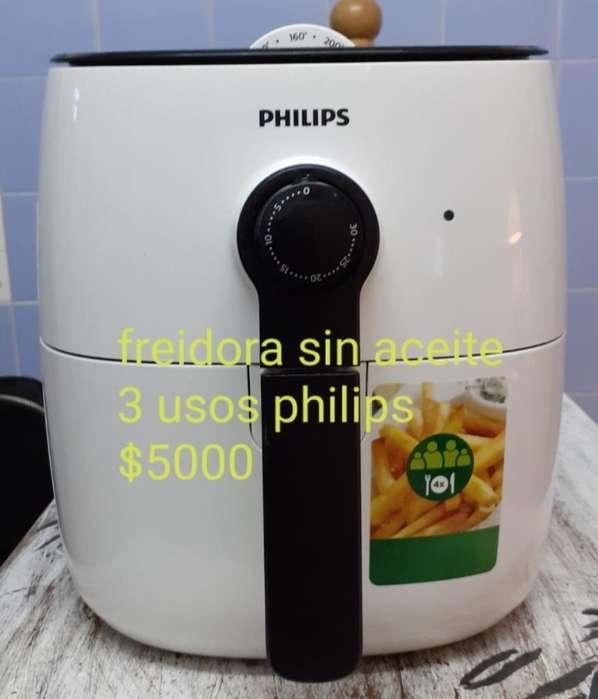 Freidora sin Aceite Philips 3 Usos 5000