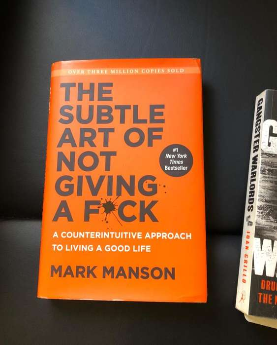 Libro Ingles The Subtle Art of Not giving a Fuck