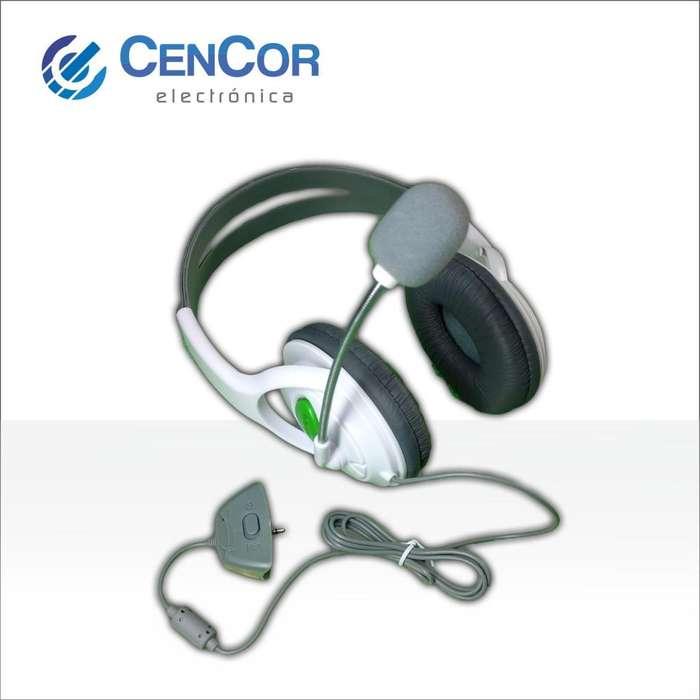 Auricular Headset Xbox 360! CenCor Electrónica