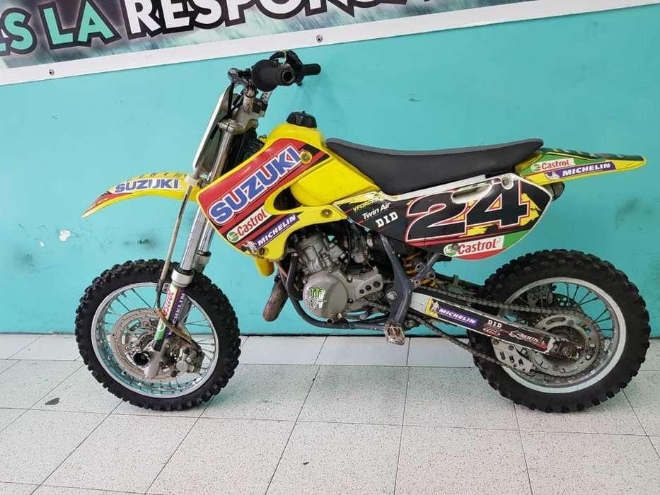 Suzuki Rm 65 Modelo 2004 Solo Tarjeta