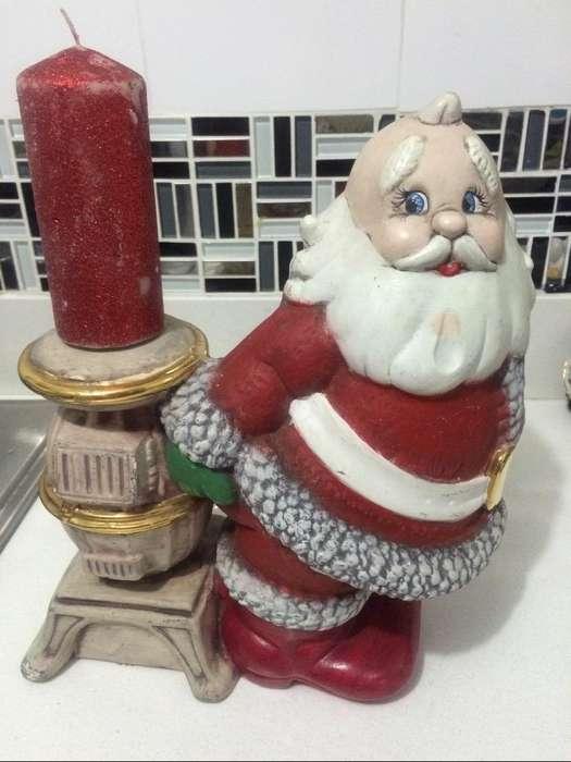 Ceramica Navidad Papa Noel