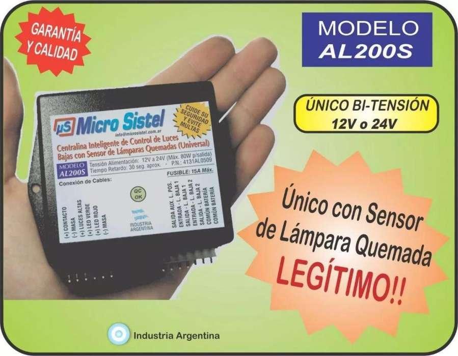 <strong>encendido</strong> De Luces Bajas AUTOMATICO Detector Lampara Quemada