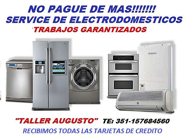 TALLER AUGUSTO -REPARACION DE ELECTRODOMESTICOS