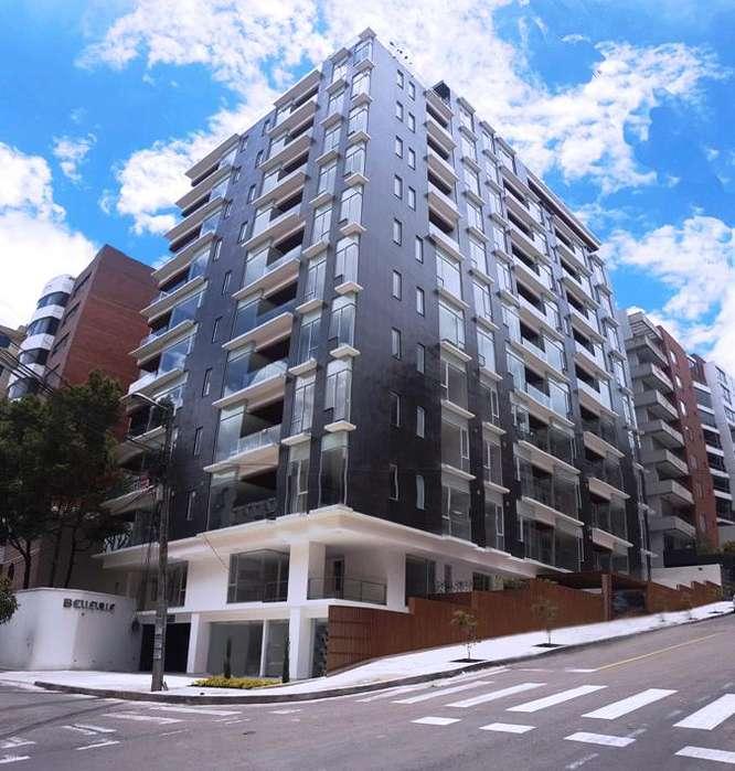 Departamento 2 dormitorios en venta, con balcón, sector Bellavista, Edificio Belleville