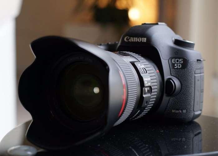 Camara Canon mark III