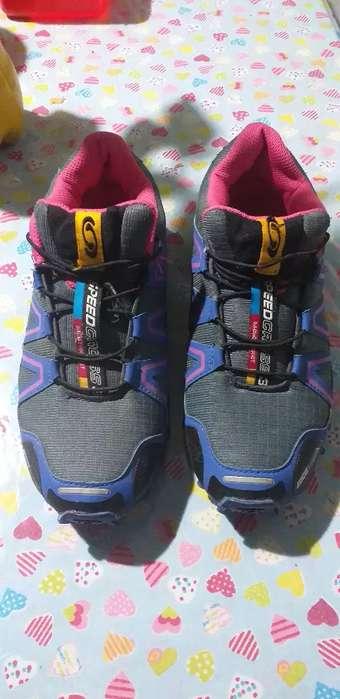 zapatillas salomon hombre speedcross 5 usados