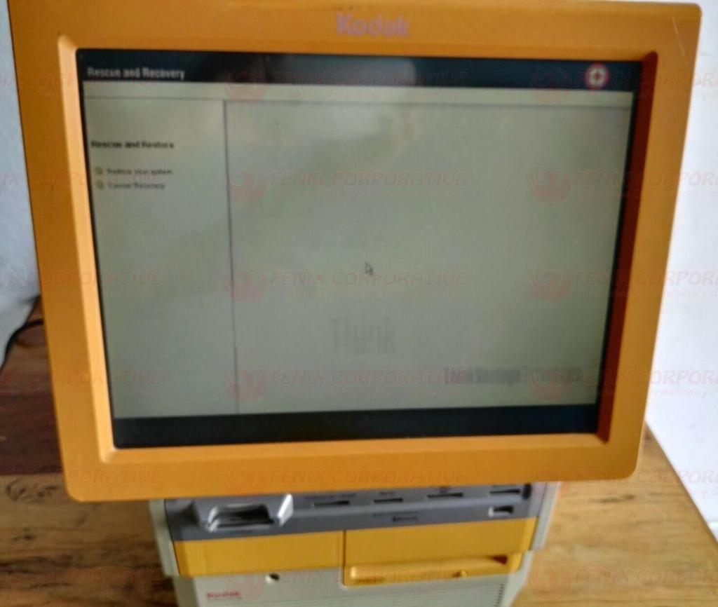 Kiosco Kodak Picture Kiosk Maker Console, Model 3 Usado
