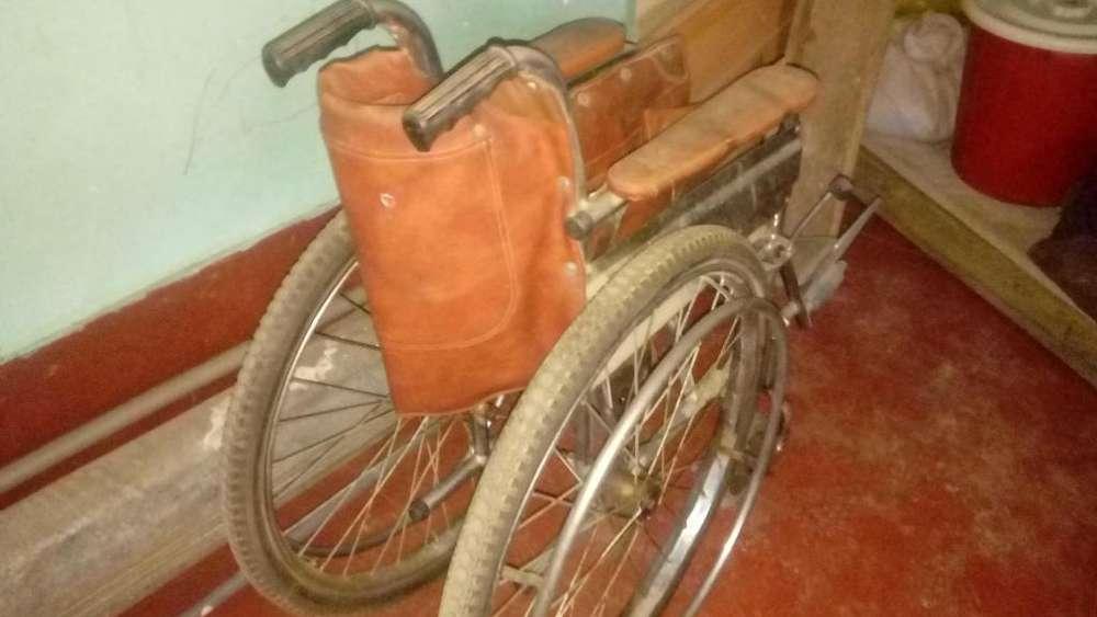 En venta silla de ruedas