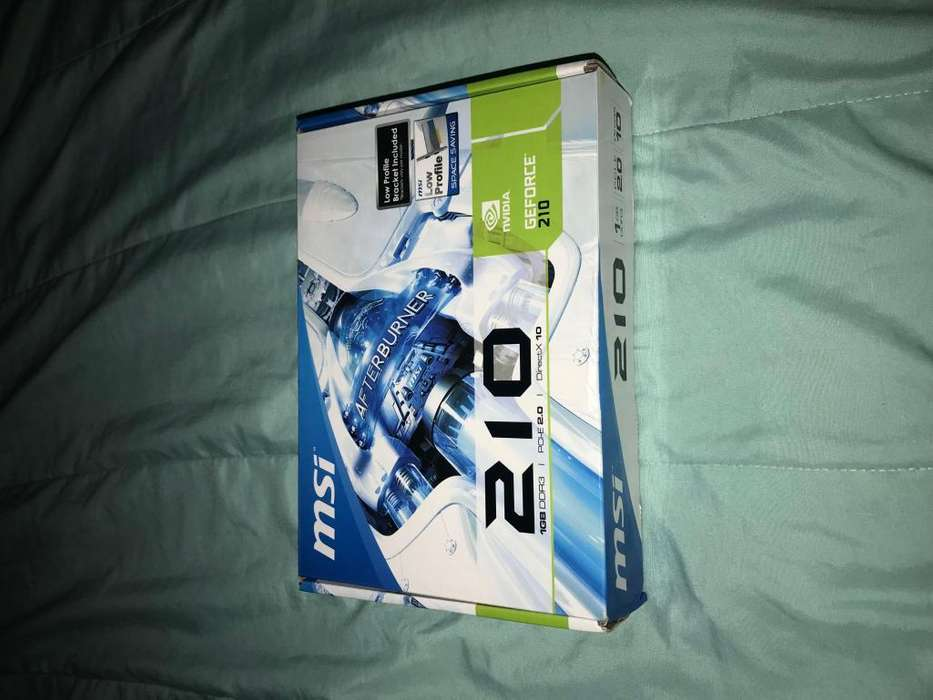 Tarjeta De Video Msi Nvidia Geforce 210 1gb Ddr3 Nueva