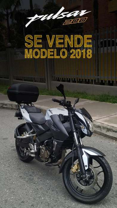Pulsar Ns 200 Modelo 2018