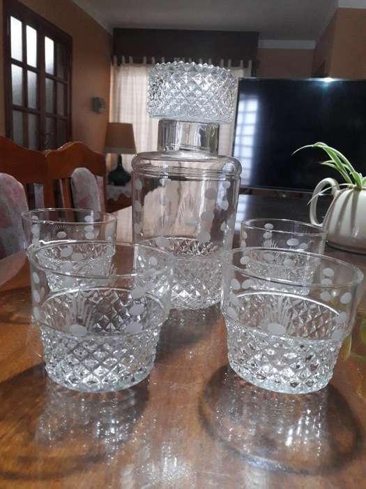 Juego Antiguo de Cristal (whisky)