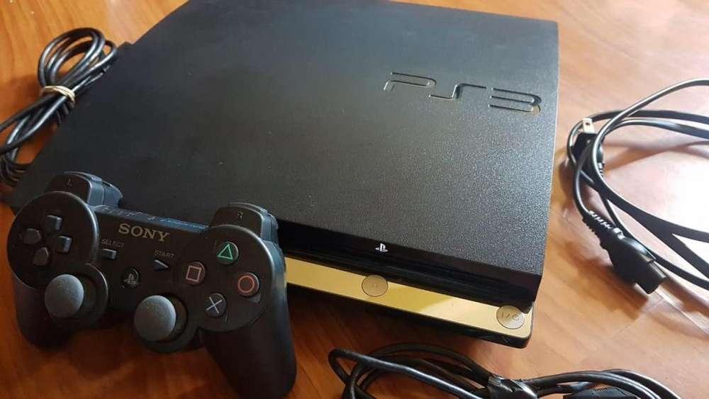 Playstation slim 3 Ps3 250GB MÁS DE 19 JUEGOS COMPLETO