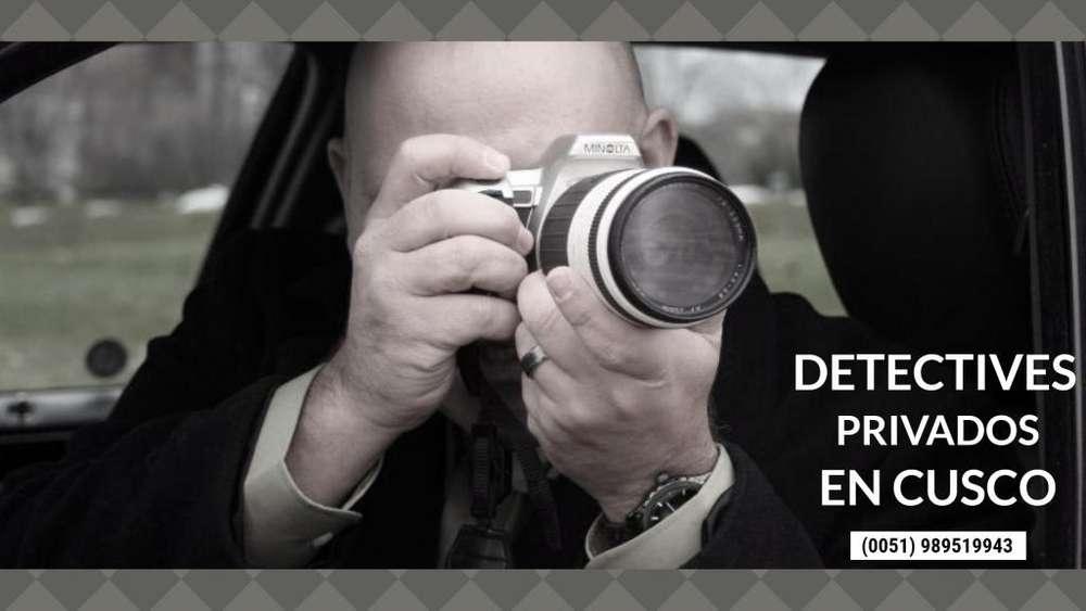 INVESTIGADORES Y DETECTIVES PRIVADOS EN CUSCO