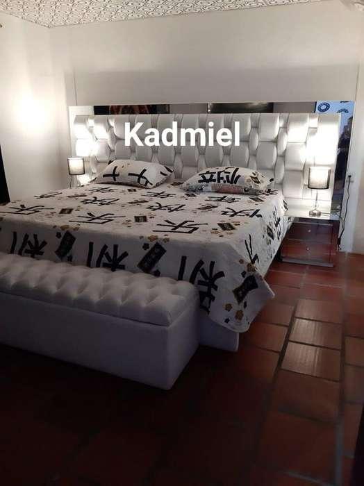 hermosa cama moderna somos fabrica se le hace en el color que elijas
