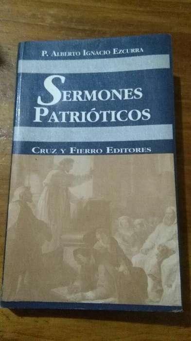 Sermones Patrioticos . Padre Alberto Ezcurra . Libro religion
