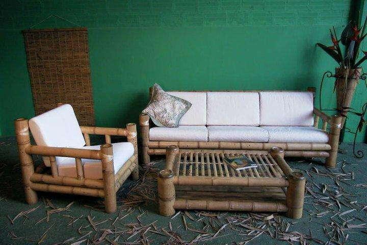 muebles rústicos combo 3.900.000 guadua
