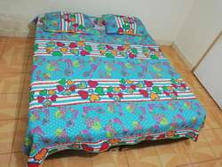 Colchón Queen 160 Pillow  2 Base Cama