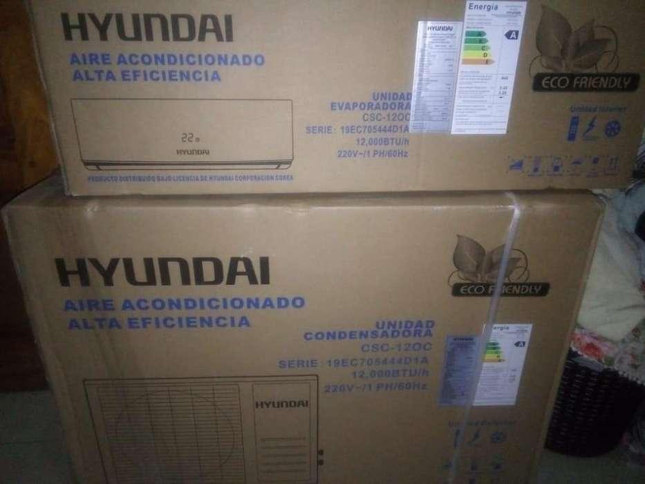 Aire Split Marca Hyundai de 12000 BTU