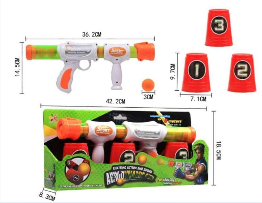 Pistola Lanza Bolas Aerodinamic Gun