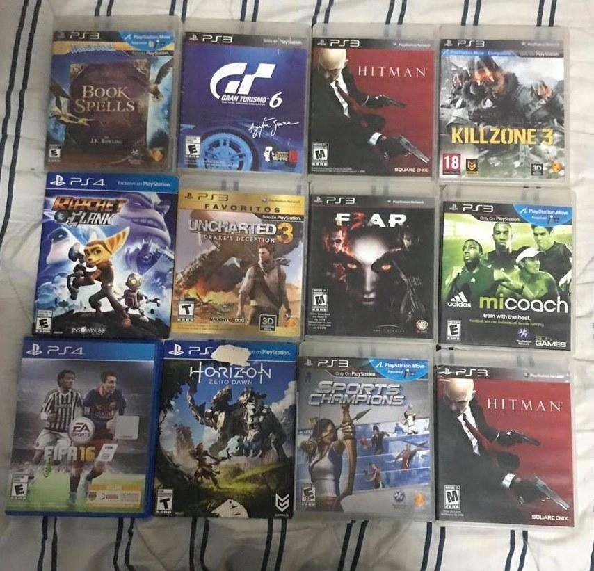 PS3 PS4 JUEGOS SOLO DE LA FOTO!!!