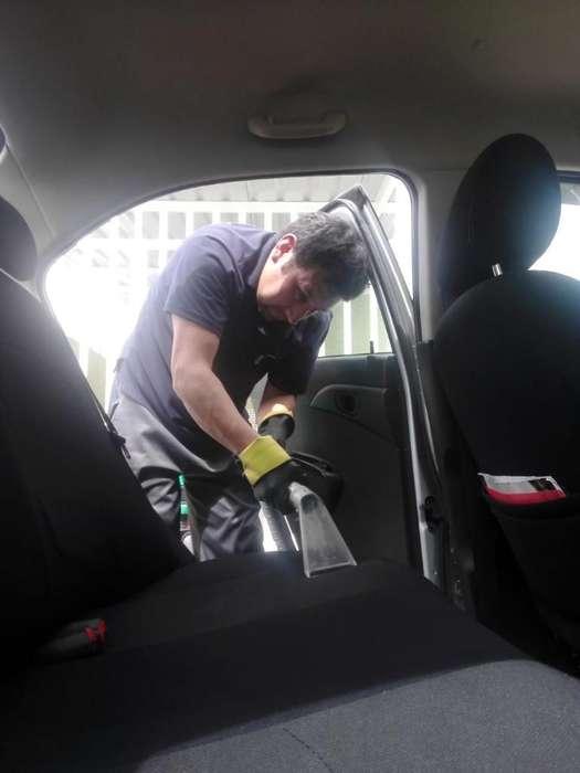 Limpieza Y Lavado de Interior de Autos