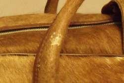 Bolso de cuero de vaca